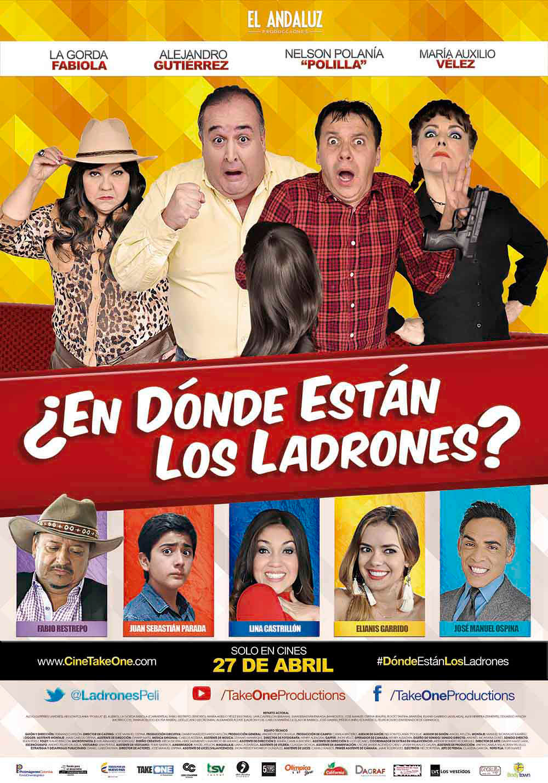 Imagen ¿En Dónde Están Los Ladrones? (2017)